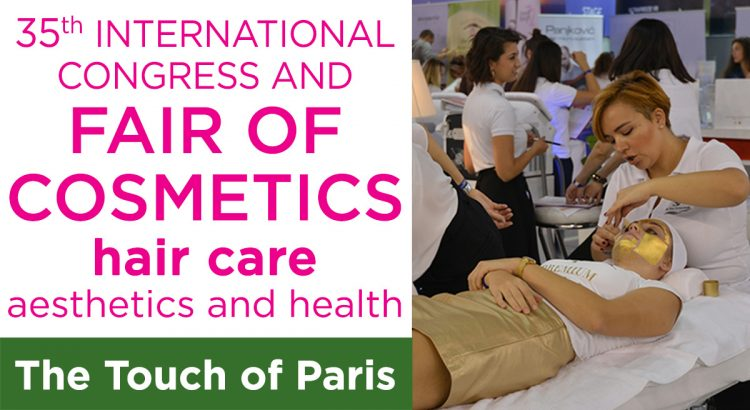 International fair of cosmetics The touch of Paris