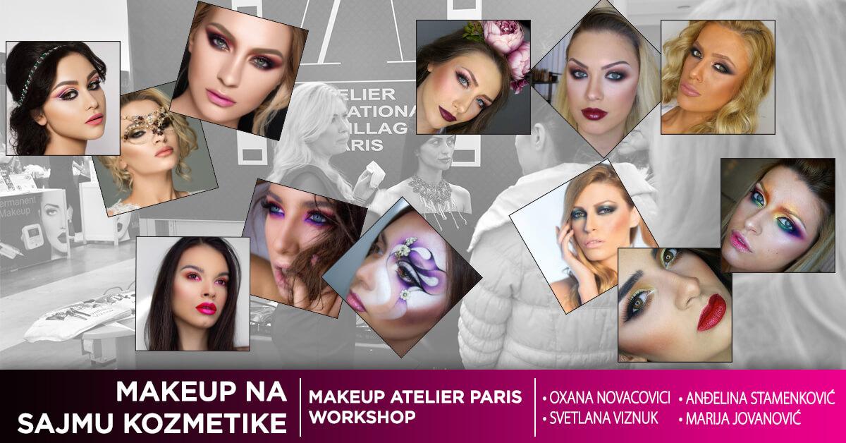 Makeup Atelier Paris workshop