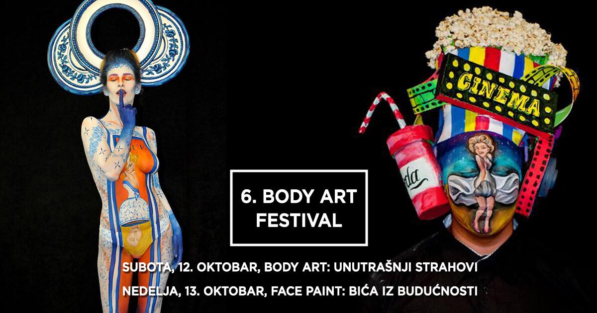 6. Body Art Festival Srbije