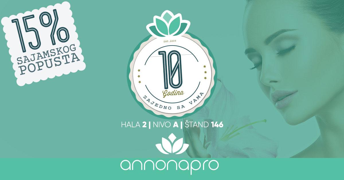 Annona Pro popusti na Sajmu kozmetike
