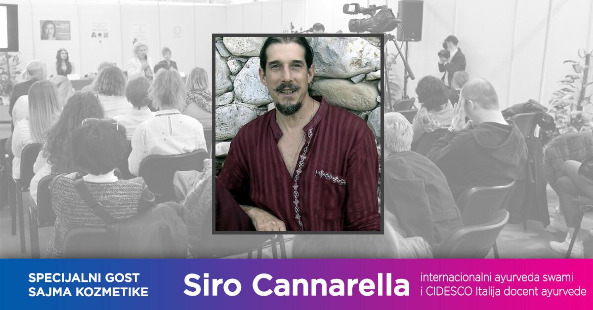 Specijalni gost CIDESCO kongresa i Sajma kozmetike: Siro Cannarella
