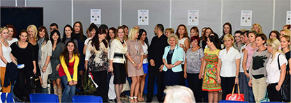 CIDESCO seminar na Sajmu kozmetike