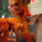 17. sajam kozmetike - takmičenje u Face & body art-u