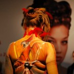 17th fair of cosmetics - Face & body art competition