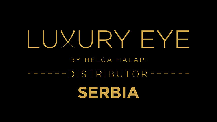 Luxury Eye by Helga Halapi ditributer Srbija