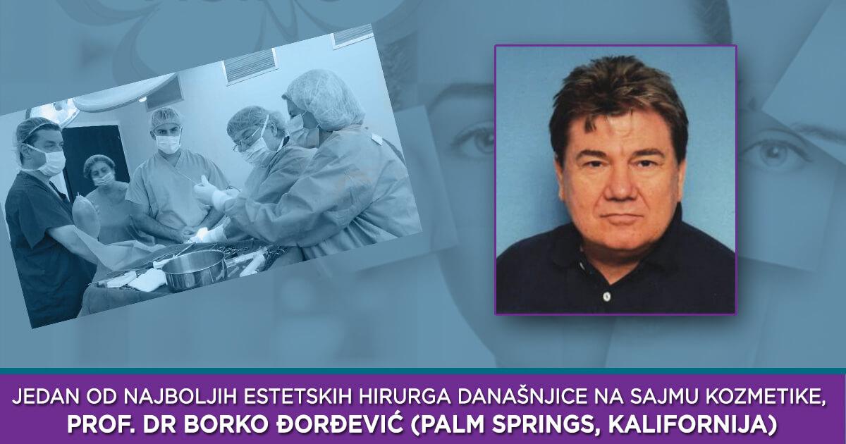 Jedan od najboljih estetskih hirurga današnjice na Sajmu kozmetike