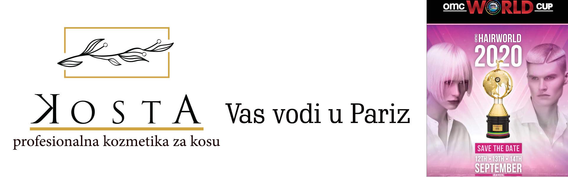 Kosta vas vodi u Pariz