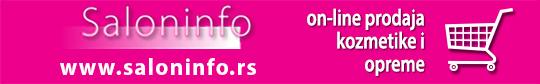 Online prodaja kozmetike Saloninfo
