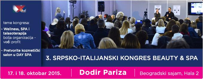 SRPSKO - ITALIJANSKI KONGRES KOZMETIKE, BEAUTY & SPA