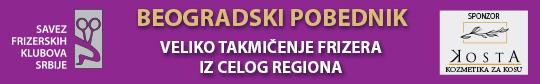 Veliko takmičenje frizera Beogradski pobednik
