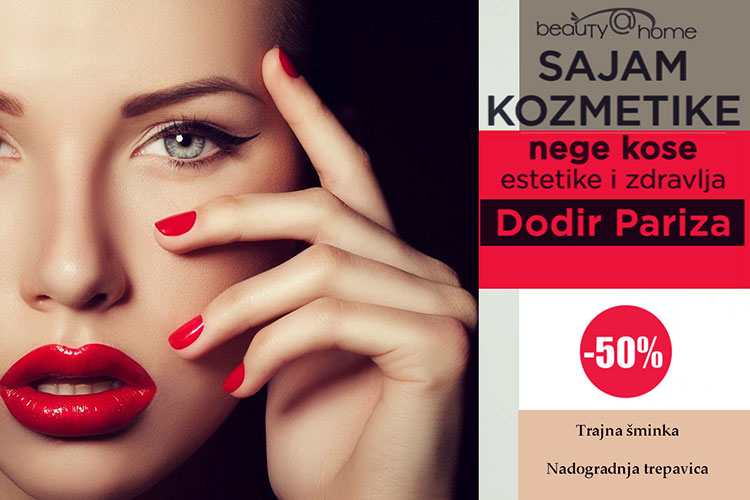 Beauty at home 33. sajam kozmetike