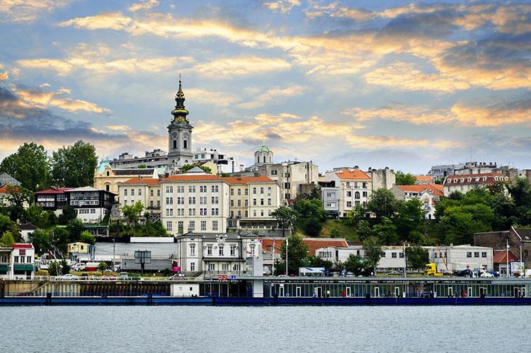 Beograd pogled sa reke Save