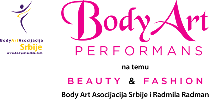 Body Art perfomans na temu Beauty & Fashion