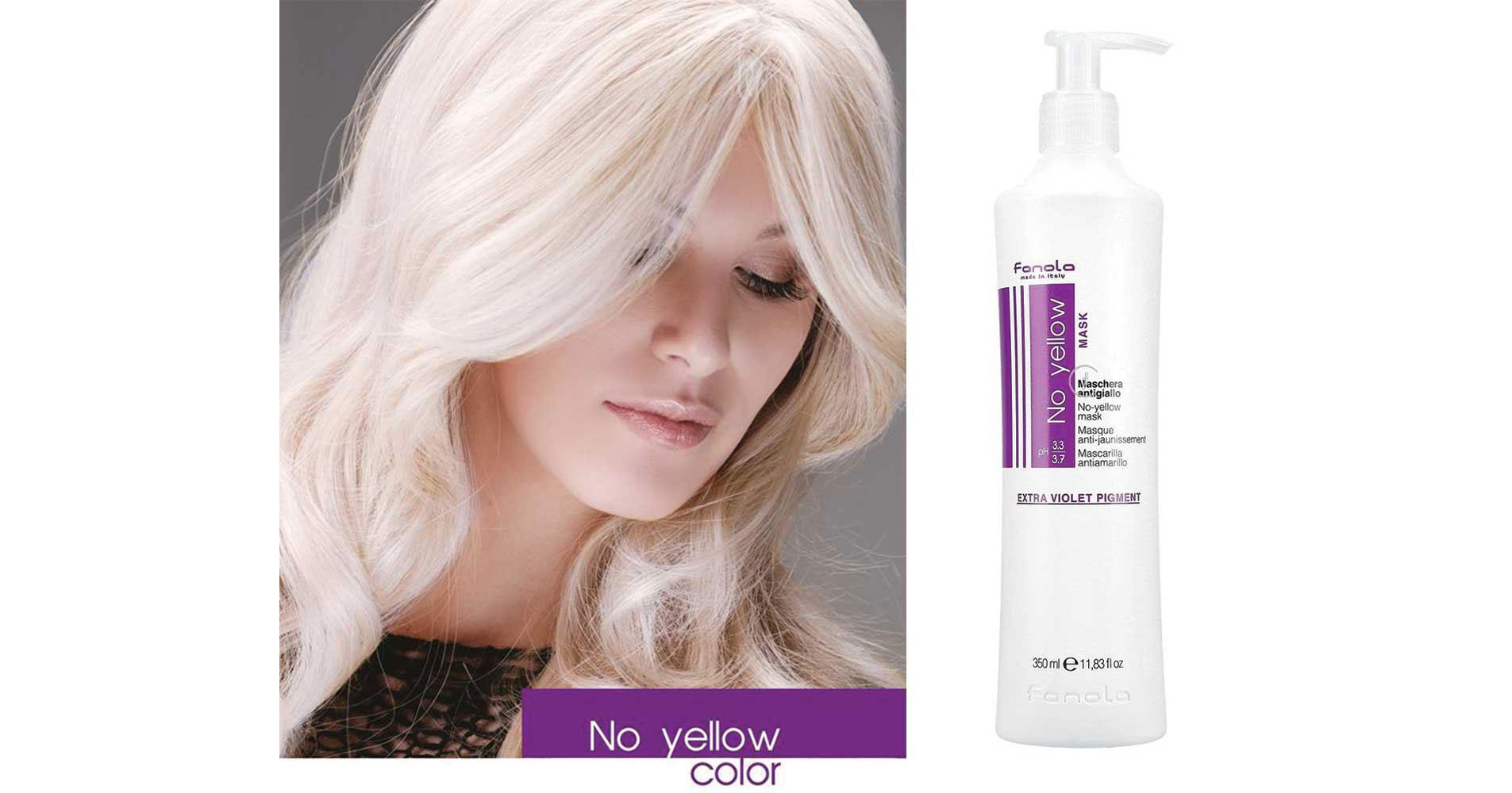 Fanola - No yellow - za plavu kosu bez žutih tonova
