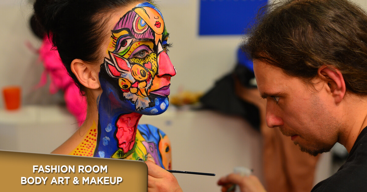 Fashion room Body art & Makeup na 33. Sajmu