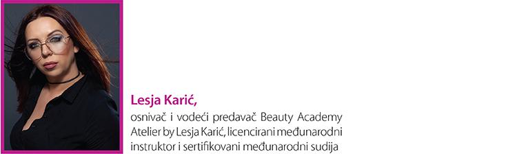 Lesja Karic Beauty academy atelier