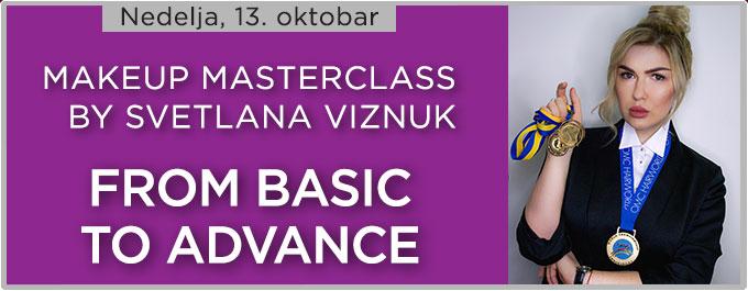 Makeup Masterclass by Svetlana Viznuk