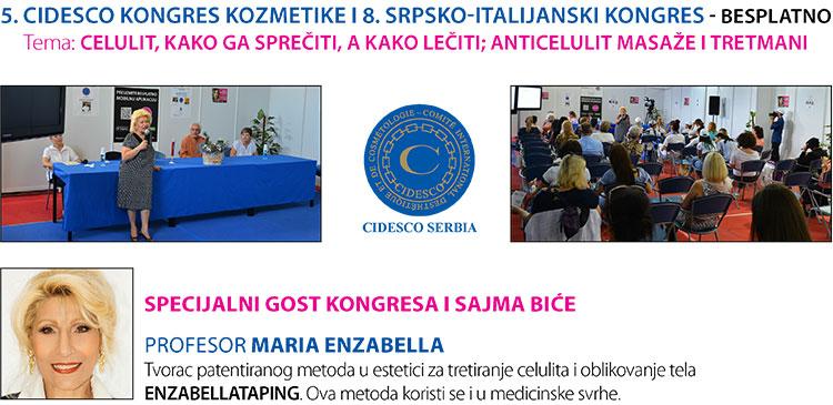 5. CIDESCO KONGRES KOZMETIKE