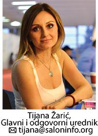 Tijana Žarić - Kozmo glavni i odgovorni urednik