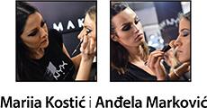 Marija Kostić i Anđela Marković
