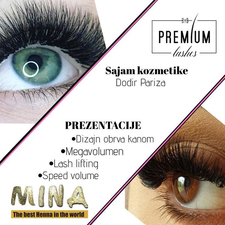 Premium lashes na sajmu kozmetike
