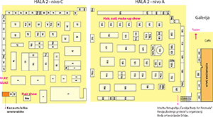 Skica hale 2 - nivo C i A