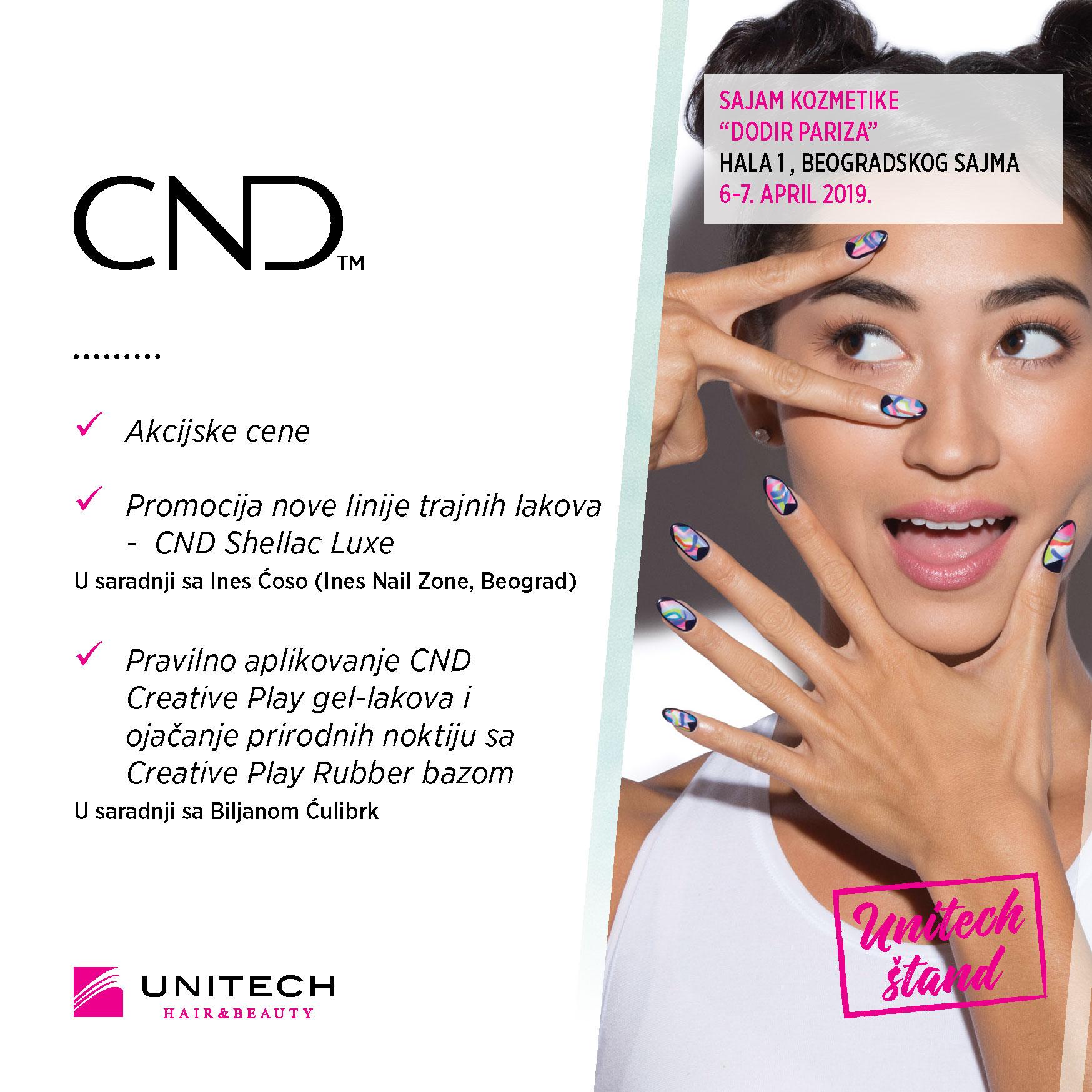 Unitech CND - 33. sajam kozmetike